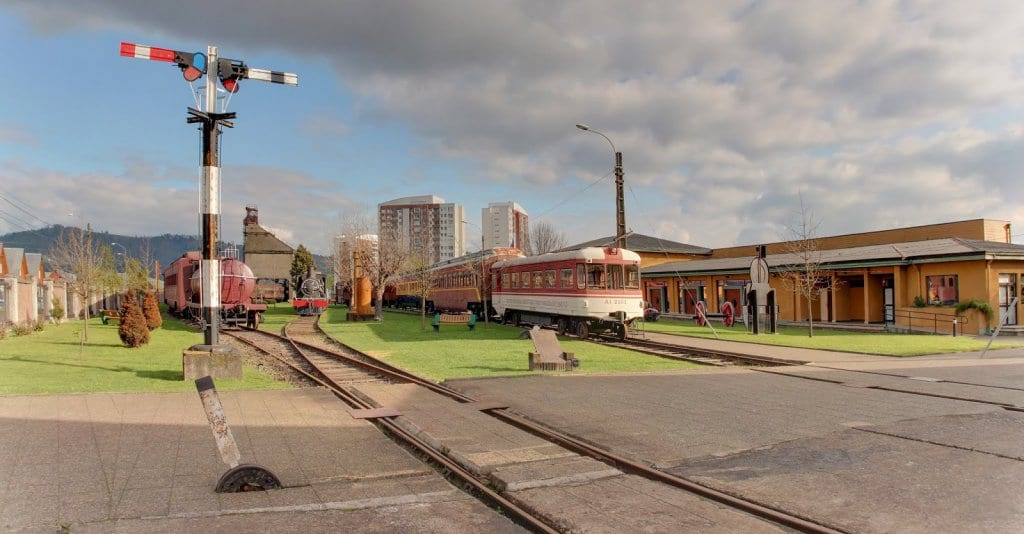 Museu Nacional Ferroviário Pablo Neruda em Temuco