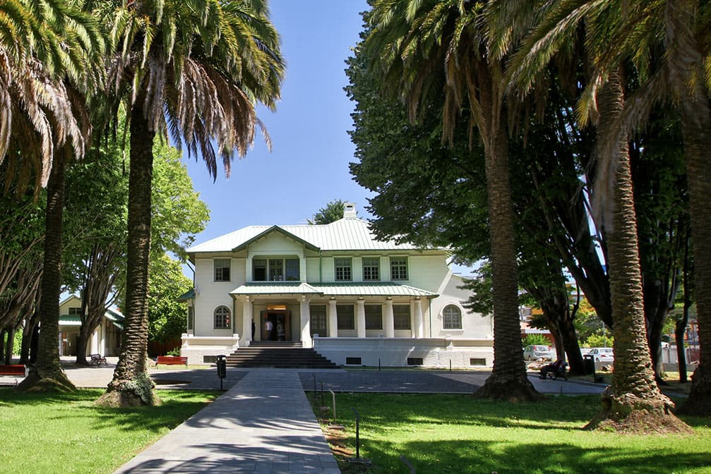 Museu Regional de la Araucanía em Temuco, no Chile