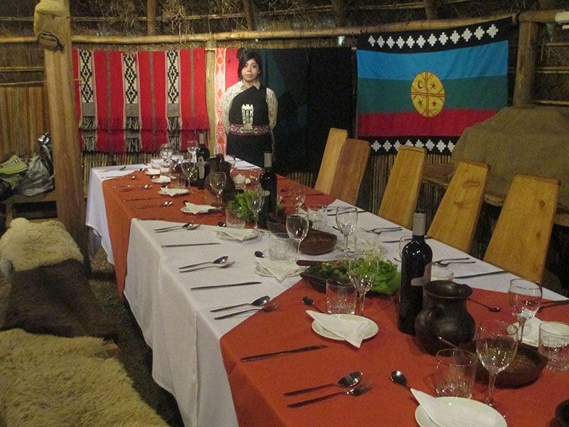 Restaurante Ruka Kimun em Temuco, no Chile