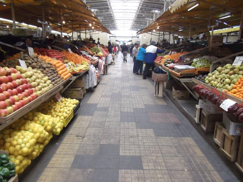 Feira Pinto em Temuco, no Chile