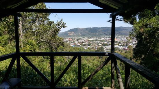 Mirante do Monumento Natural Cerro Ñielol em Temuco