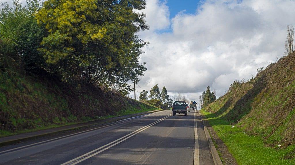 Viagem de carro em Temuco