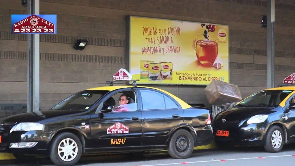 Pedindo um táxi em Temuco
