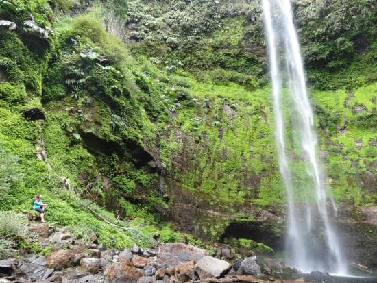 Cachoeira Salto El Claro em Pucón