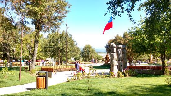 Plaza de Armas em Pucón