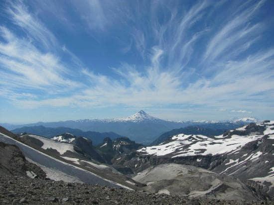Vista do Vulcão Villarrica em Pucón