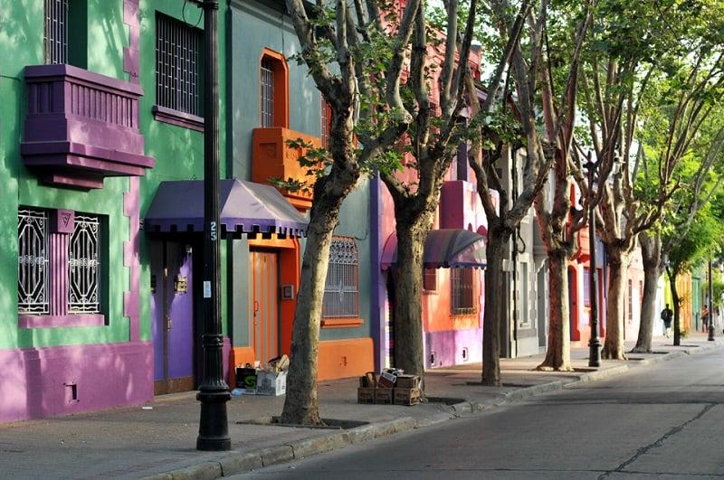 Rua da região de Bellavista