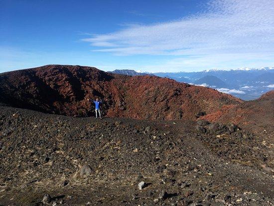 Cratera do Vulcão Osorno em Puerto Varas