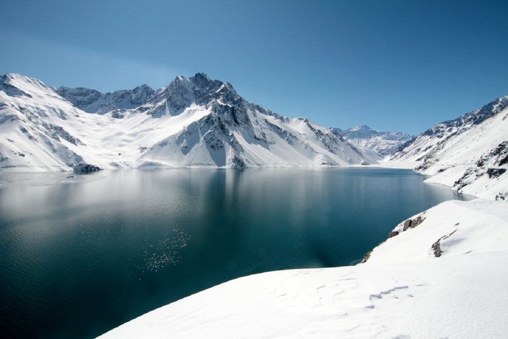 Lagos e montanhas chilenas
