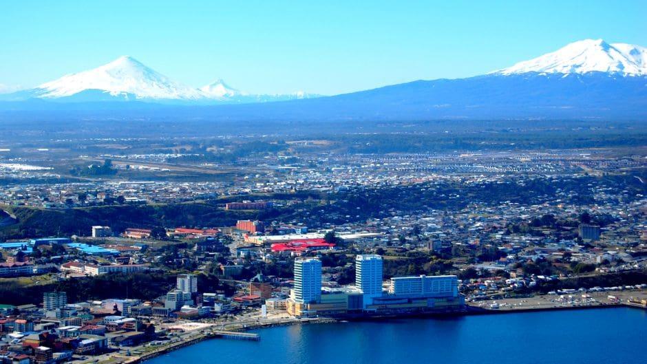 Guia pela cidade de Puerto Montt no Chile: Vista aérea de Puerto Montt