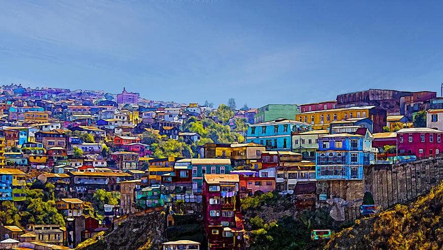 Valparaíso no Chile