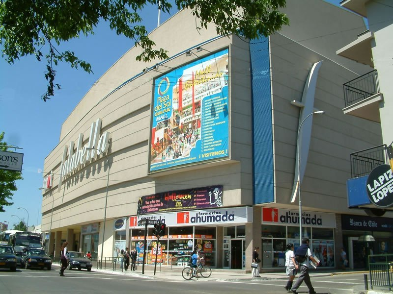 Shoppings em Valparaíso: Shopping Mall Plaza del Sol Quilpue