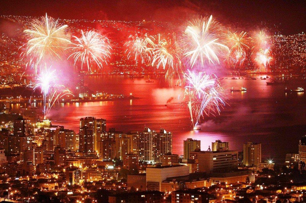 Ano Novo em Valparaíso