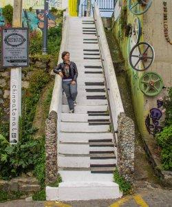 Como andar em Valparaíso: caminhar em Valparaíso