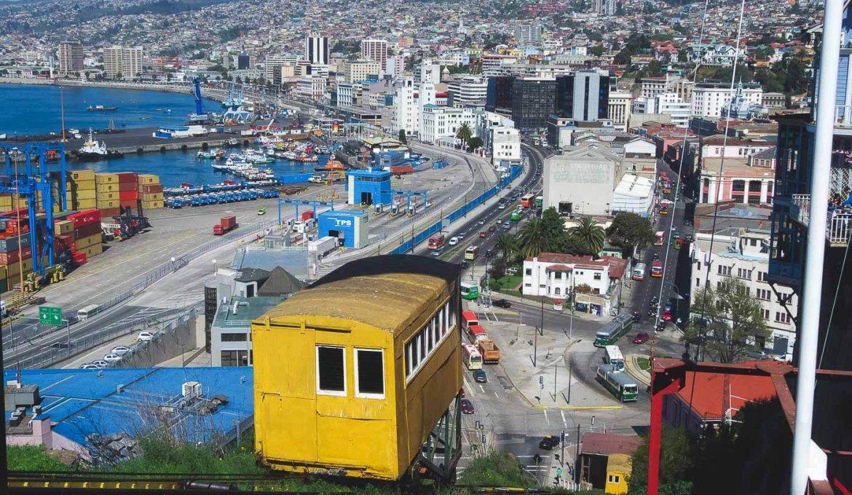 Como andar em Valparaíso
