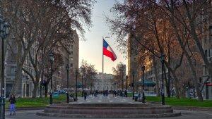 Feriados em Santiago do Chile em 2020: praça