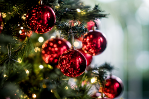 Natal em Viña del Mar: bolinhas