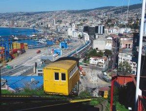 Passeio de ônibus turístico em Valparaíso: cerro