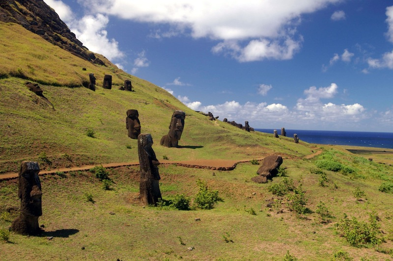 O que fazer com crianças na Ilha de Páscoa: Parque Nacional Rapa Nui