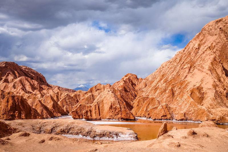 Valle de Marte em San Pedro de Atacama no Chile: Valle de la Muerte