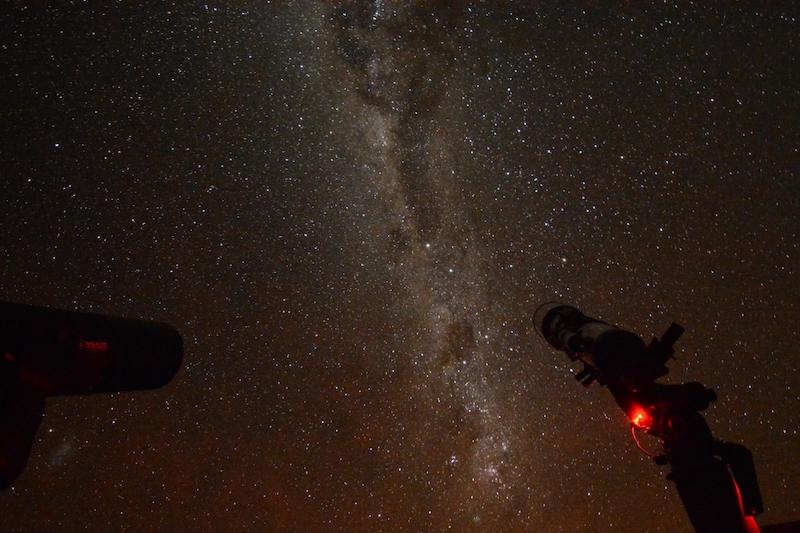 Tour astronômico em San Pedro de Atacama no Chile: observação das estrelas