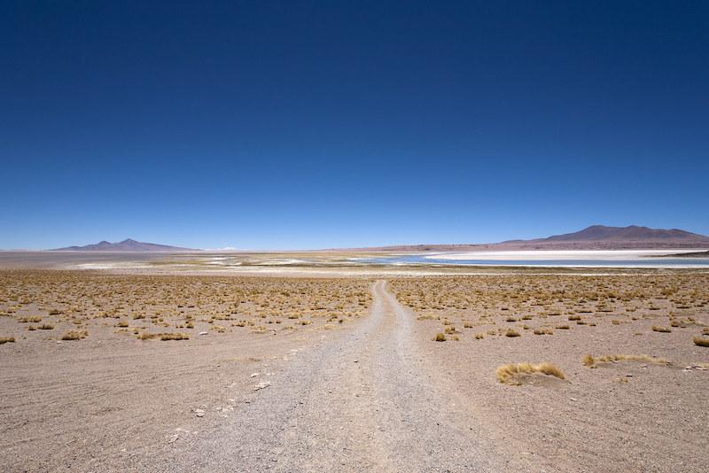 Salar de Tara em San Pedro de Atacama no Chile: paisagem